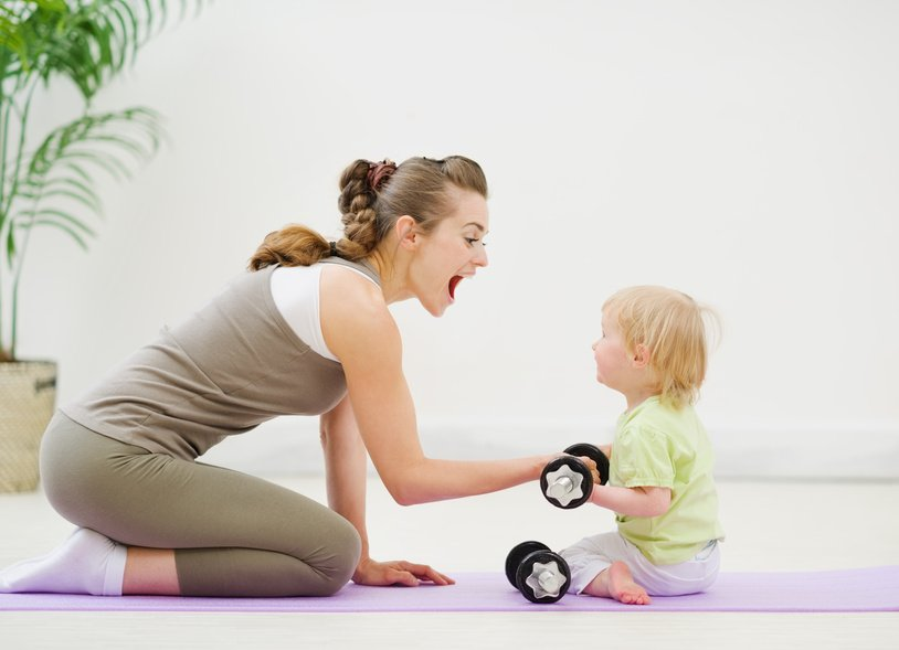 fitness tips for mothers