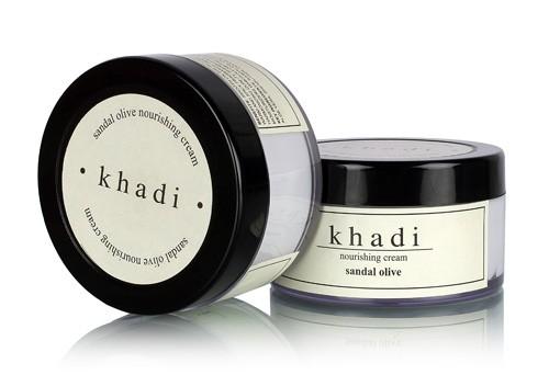Khadi Natural Sandal & Olive Herbal Nourishing Cream