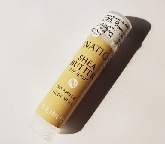 Natio Shea Butter Lip Balm