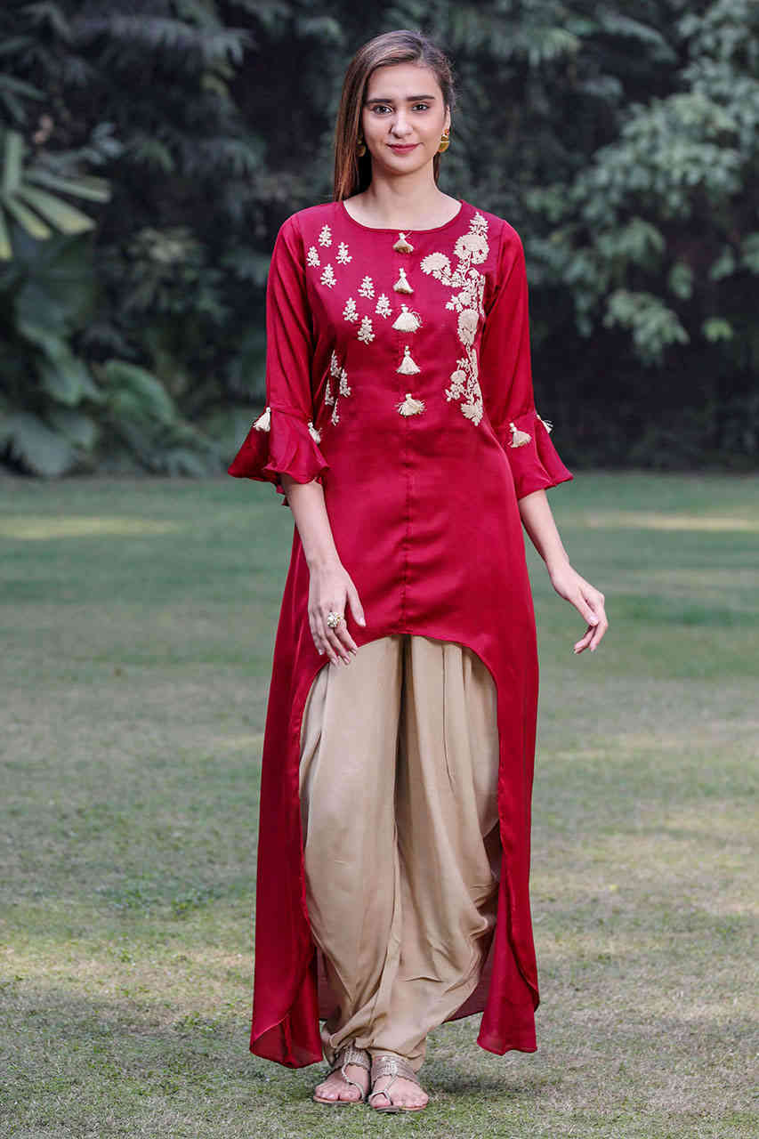 These 5 Bottom Wear You Can Smartly Wear With Indian Kurti\